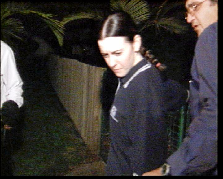 Natasha Ryan after she was found by police in Rockhampton in 2003. .
