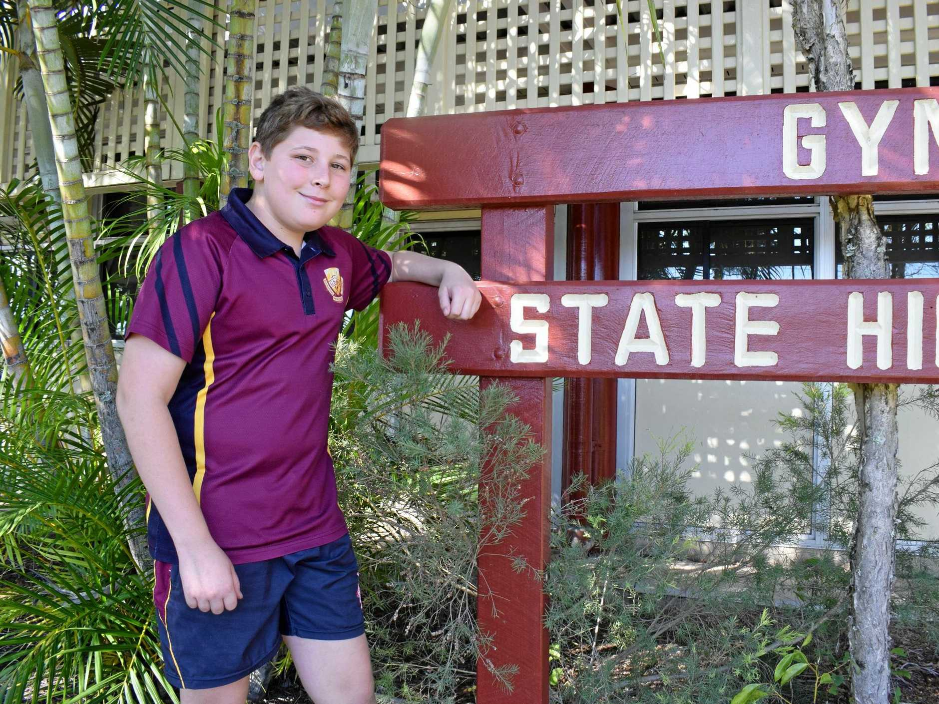 ENGINEERING HIS FUTURE: A passion for maths and science has made GSHS Grade 7 student Isaiah Jacka one of the region's rising star students.