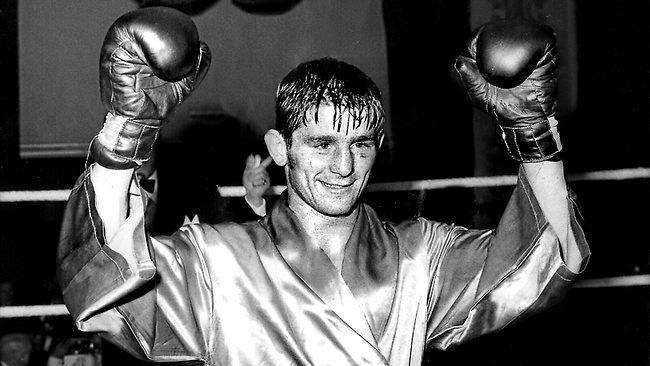 Australian boxing great Johnny Famechon.