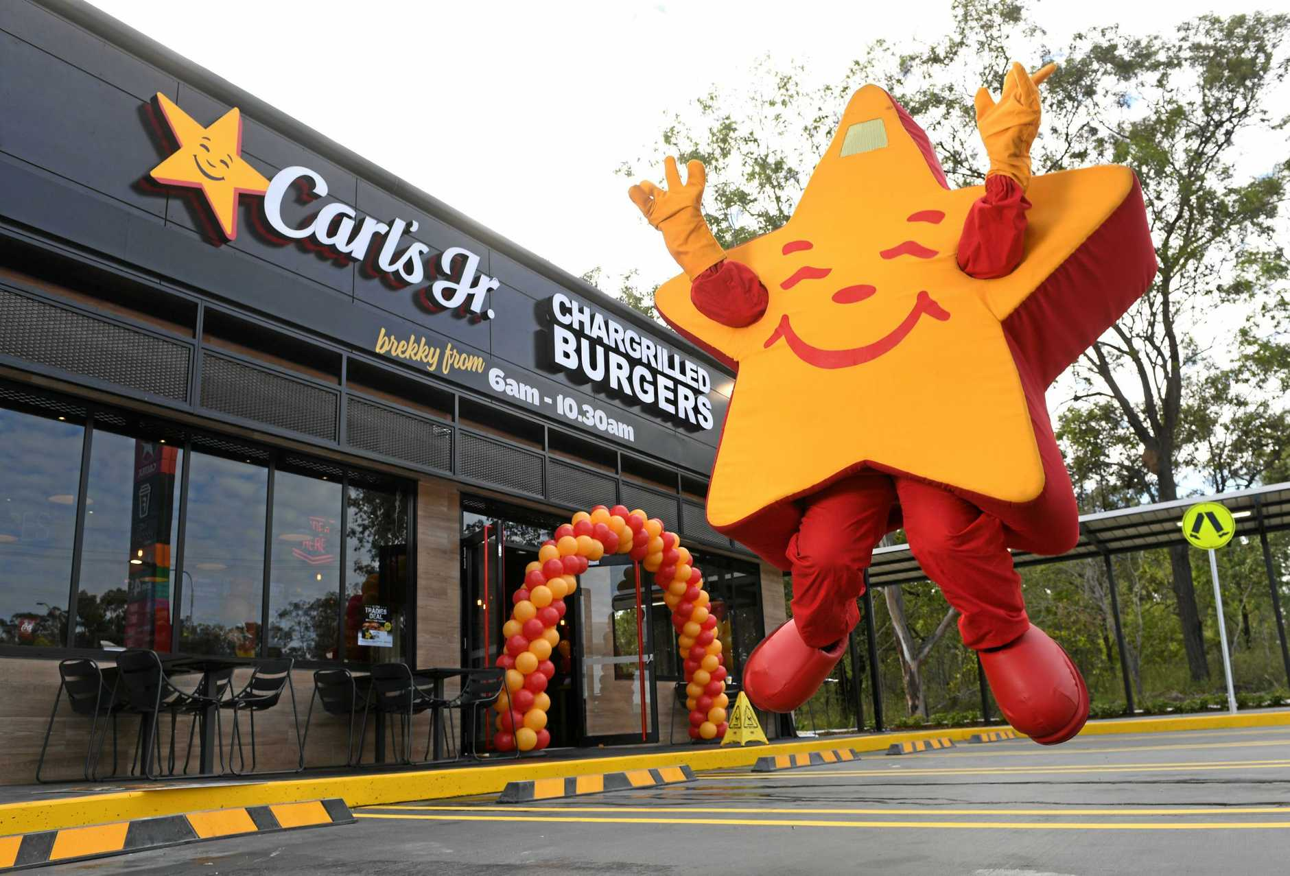 Carl's Jr has opened in Riverview.