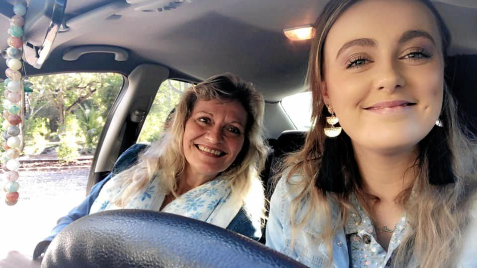 Catrina Sorrensen and daughter Joei-leigh.