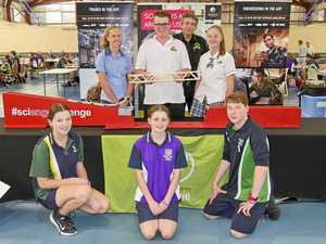 GALLERY: Fraser Coast students ace engineering challenge
