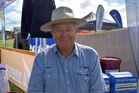 Mega business development manager Kevin Jackson said being at the  Canegrowers Mackay Ag Trade Expo was all about