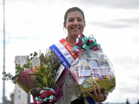 Sarah Packer was crowned the inaugural Rural Ambassador at the Roma show.
