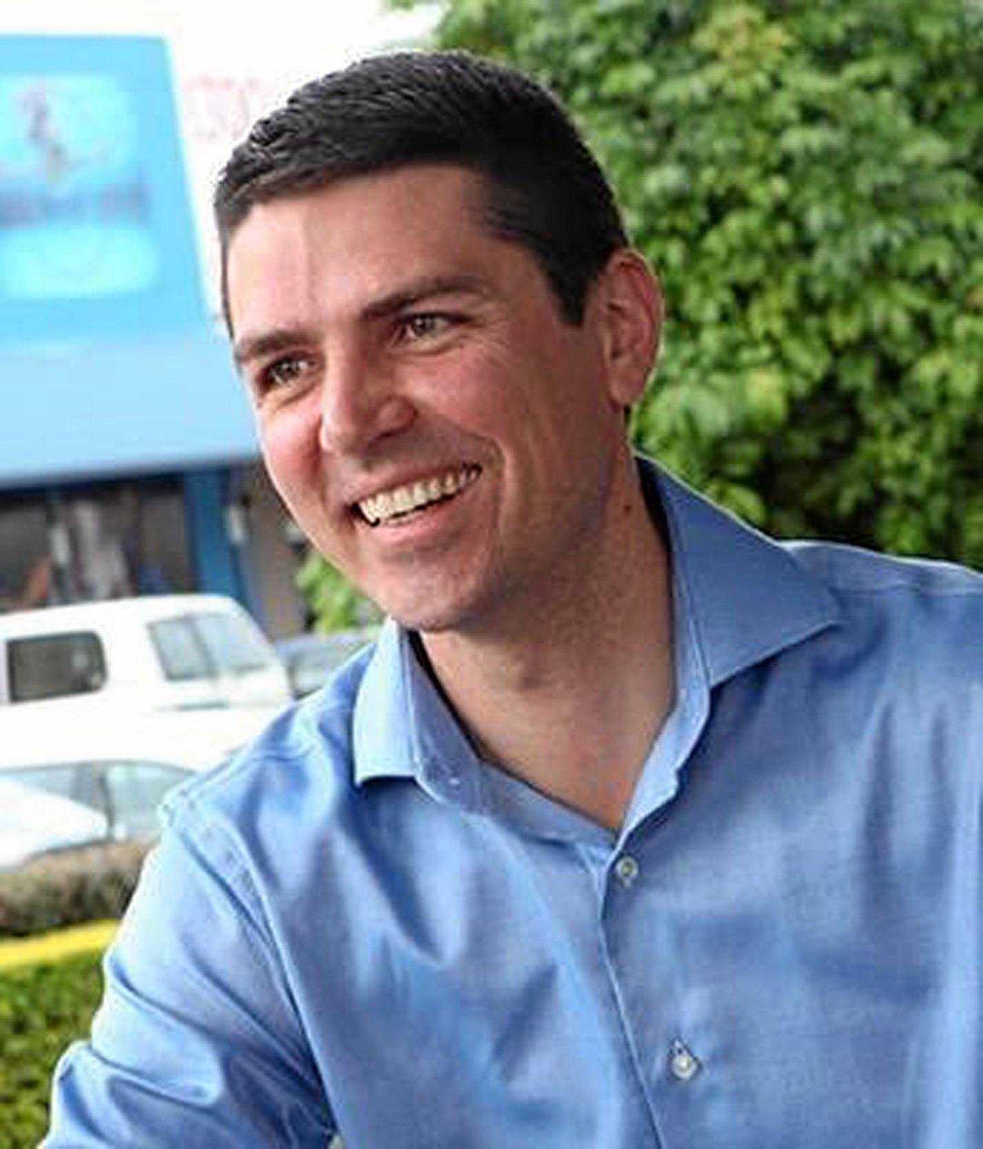 Nationals candidate for Richmond Matthew Fraser.