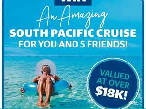 Win a free cruise for you and five friends