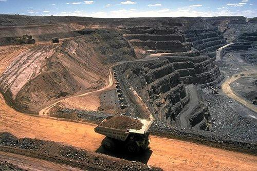 Carmichael coal mine in Queensland.