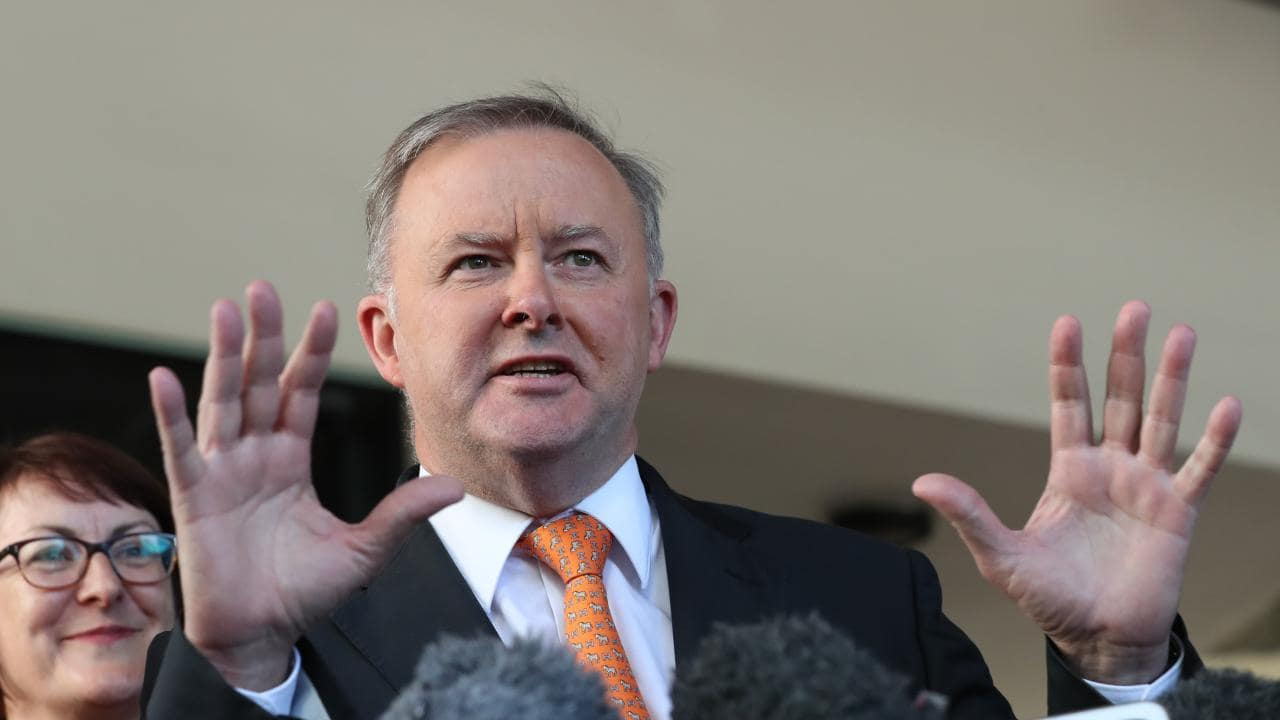 Labor's transport spokesman Anthony Albanese. Picture: Liam Kidston
