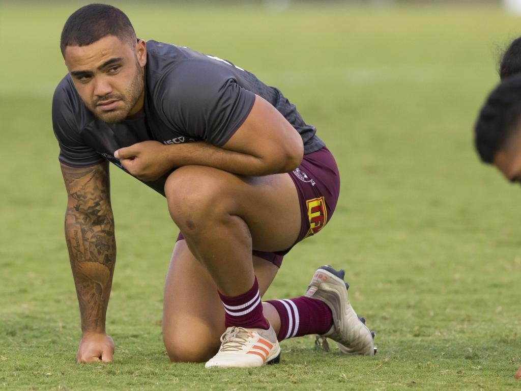 Dylan Walker is a star player for the Manly Sea Eagles. Picture: Craig Golding