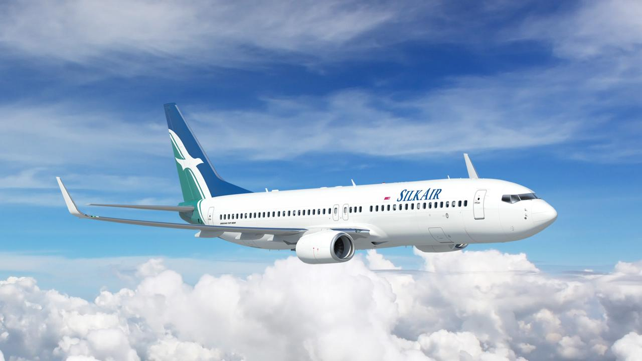 A SilkAir Boeing 737-800. Singapore Airlines/SilkAir will ramp up its Cairns schedule next month.