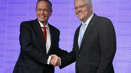 Scott Morrison and Bill Shorten came eighth and ninth, respectively. Picture: Liam Kidston