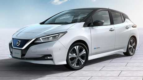 The Nissan Leaf will be one of the cheapest electric cars in Australia.