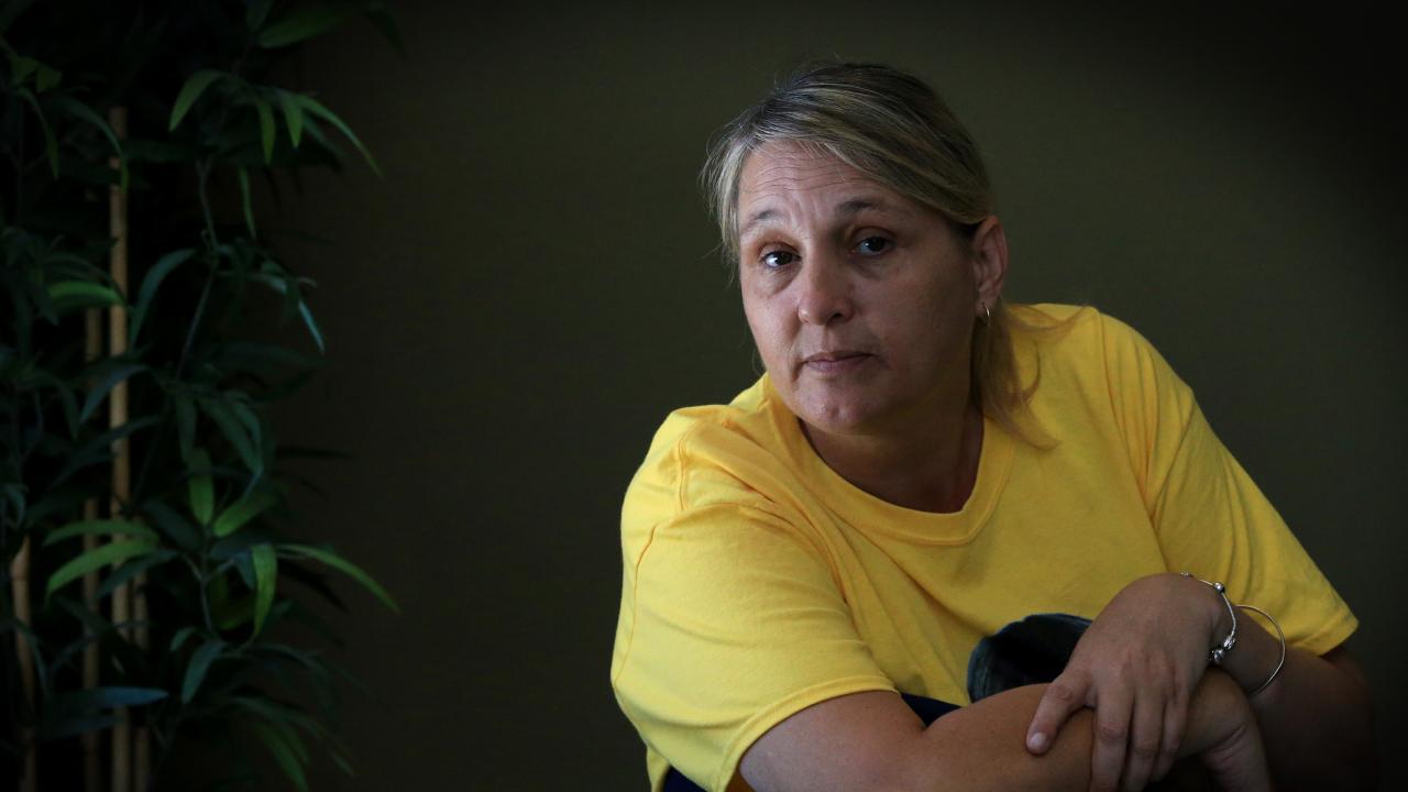 Annette Mason's sister Linda Mason. Picture: Jamie Hanson