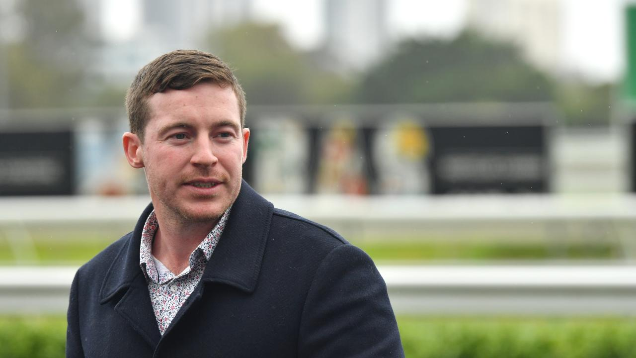 Trainer Ben Currie has been banned four years. Picture: AAP Image/Darren England)