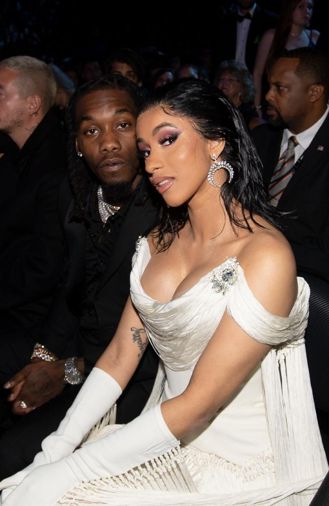 Offset and Cardi B reconciled after previously announcing they had broken up. Picture: Getty Images