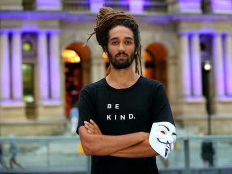 Barcelona-based Seb Alex gave a speech at a vegan activism masterclass in Brisbane last month.