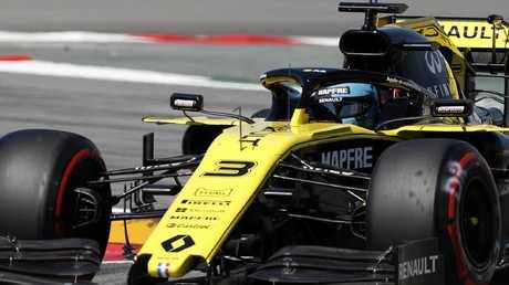 Daniel Ricciardo finished 12th. Picture: Getty Images