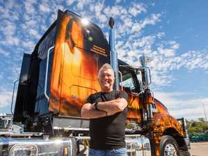 WORKING CLASS MACK: Jimmy Barnes gives his seal of approval