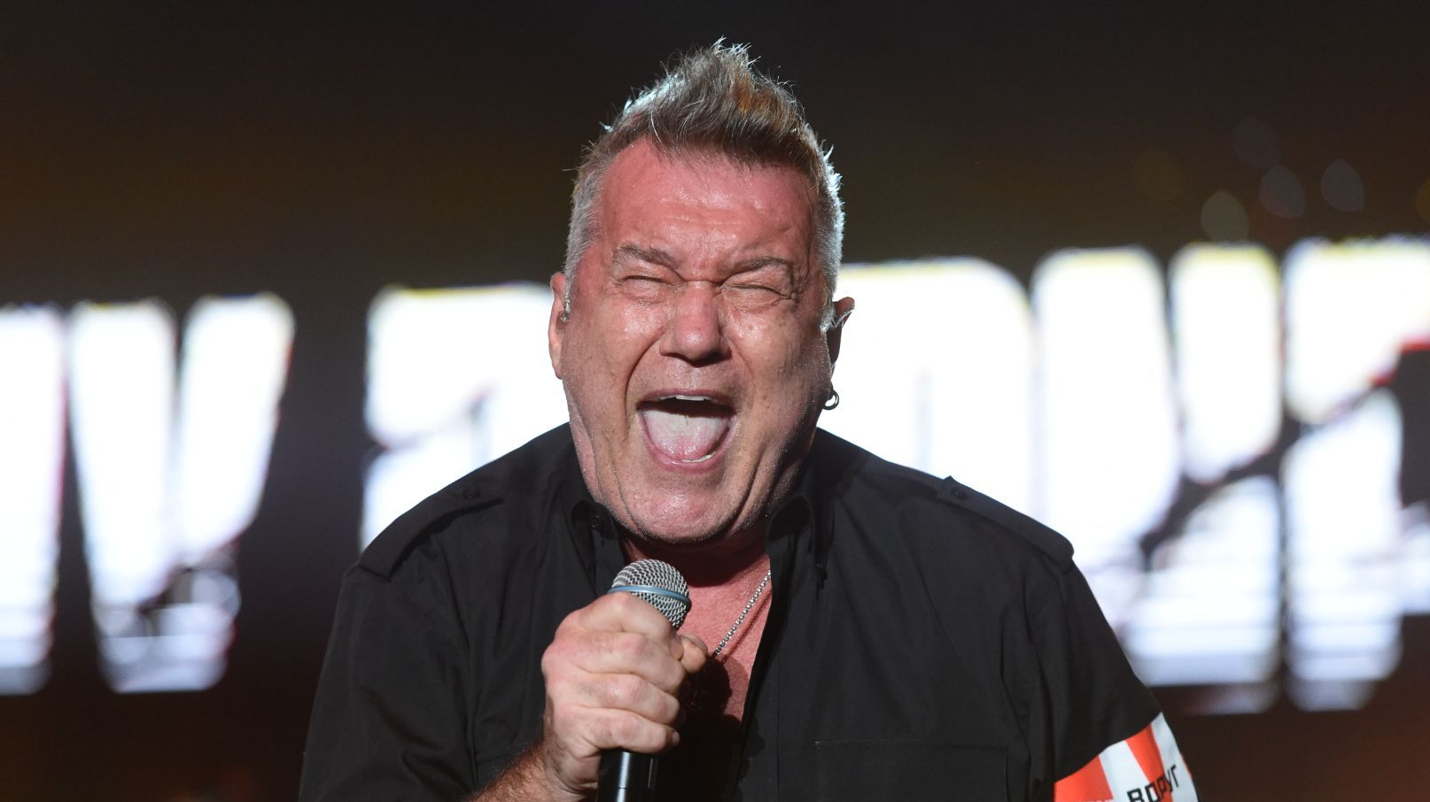 Rock legend Jimmy Barnes is on stage at By the C.