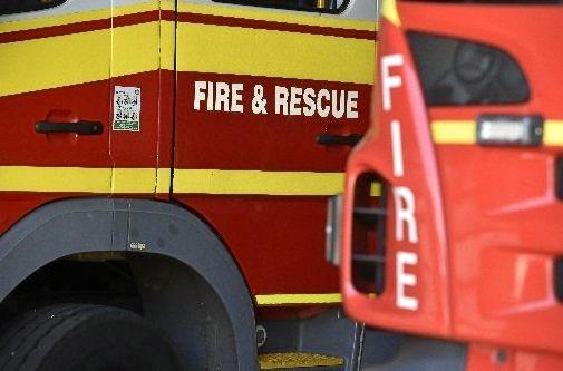 QFES respond to a fire.