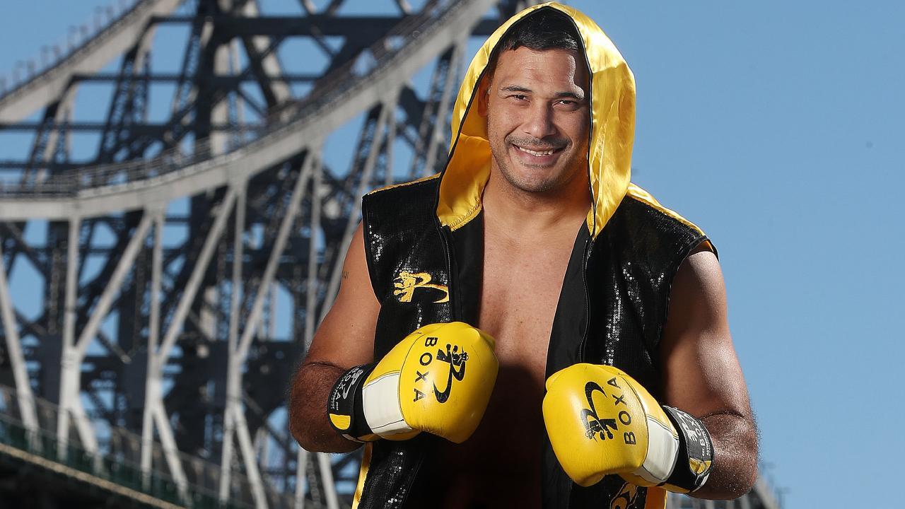 Justin Hodges continues his boxing career in Sydney next week.