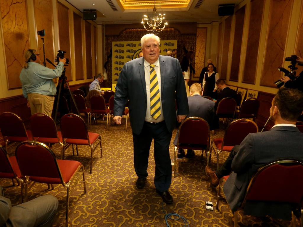 Clive Palmer first floated the Titanic II idea in 2012. Picture: AAP