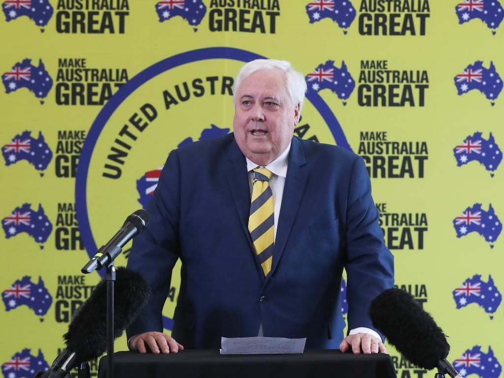 Businessman Clive Palmer
