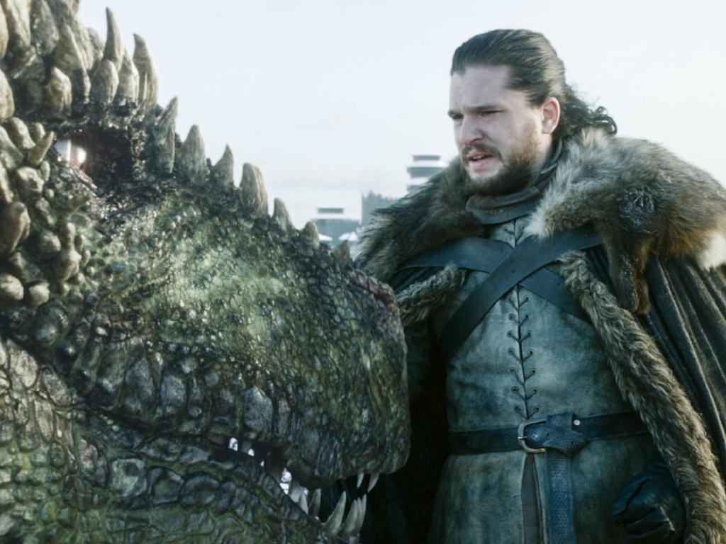 Couldn't somebody at least have actually ridden Drogon off into the sunset? Picture: HBO