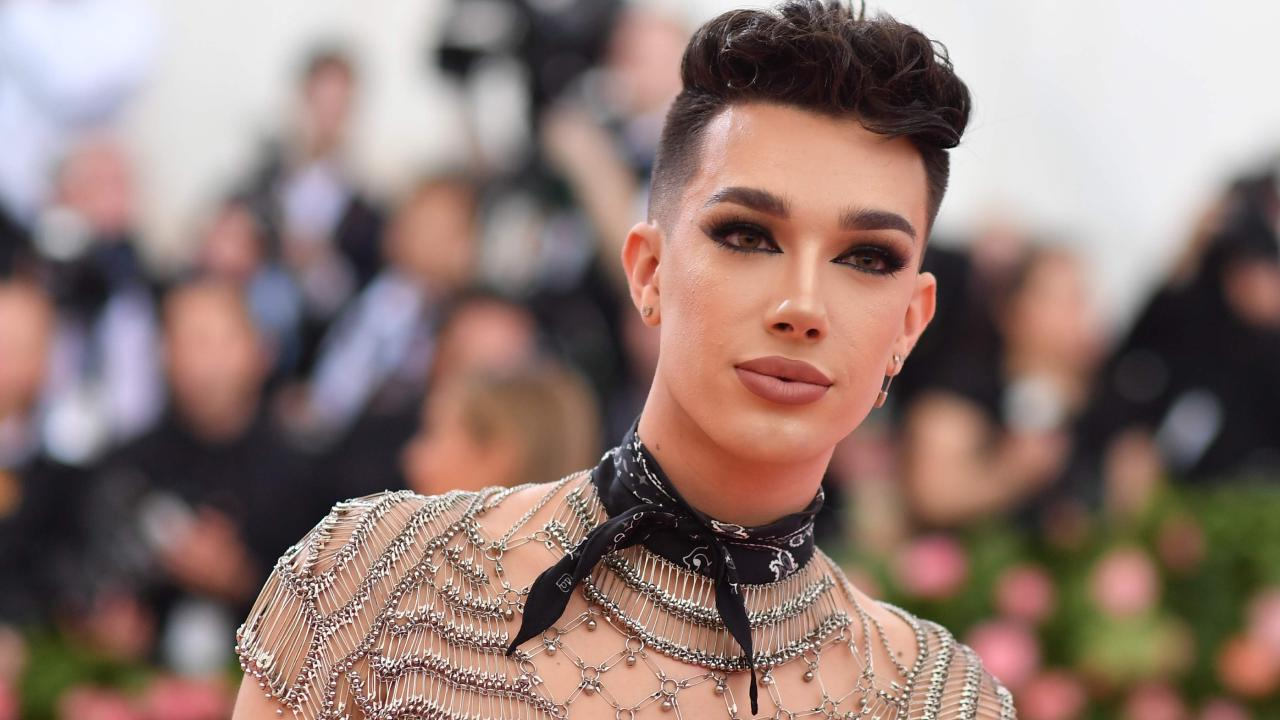 James Charles has had a falling out with Tati Westbrook. Picture: Angela Weiss / AFP