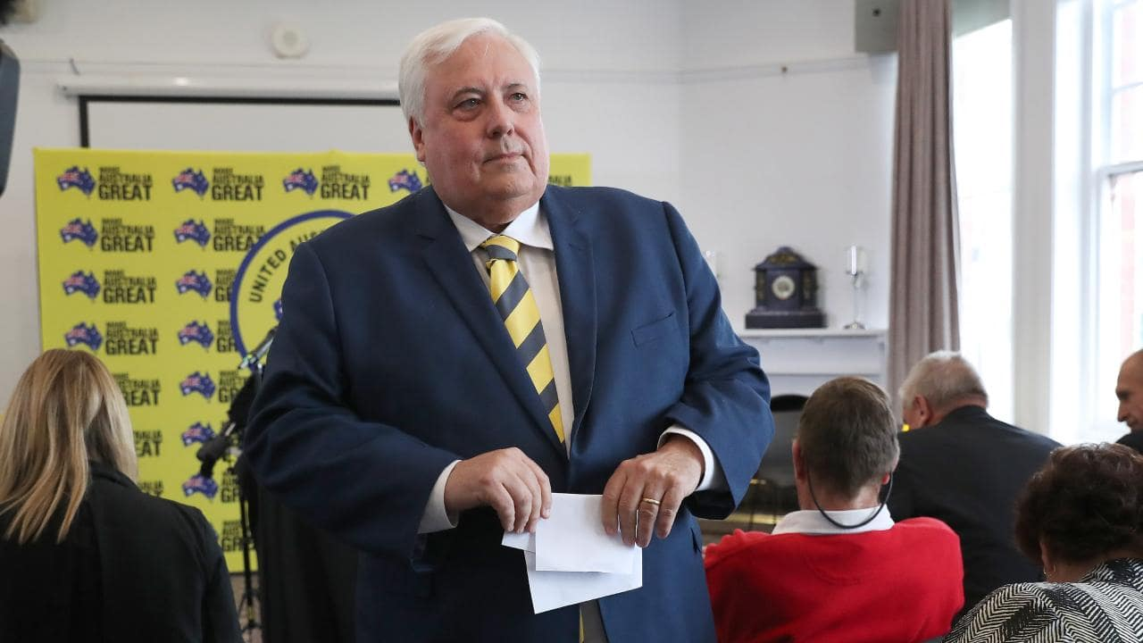 It's claimed Clive Palmer has never been late with a payment to the Titanic II designers. Picture: NIKKI DAVIS-JONES