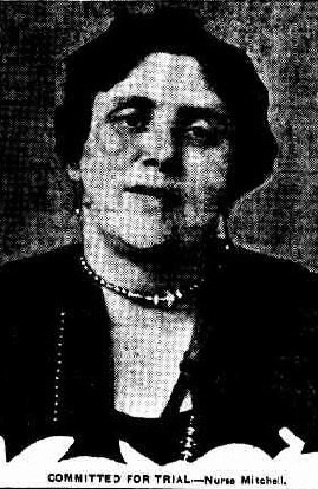 Nurse Hannah Mitchell.