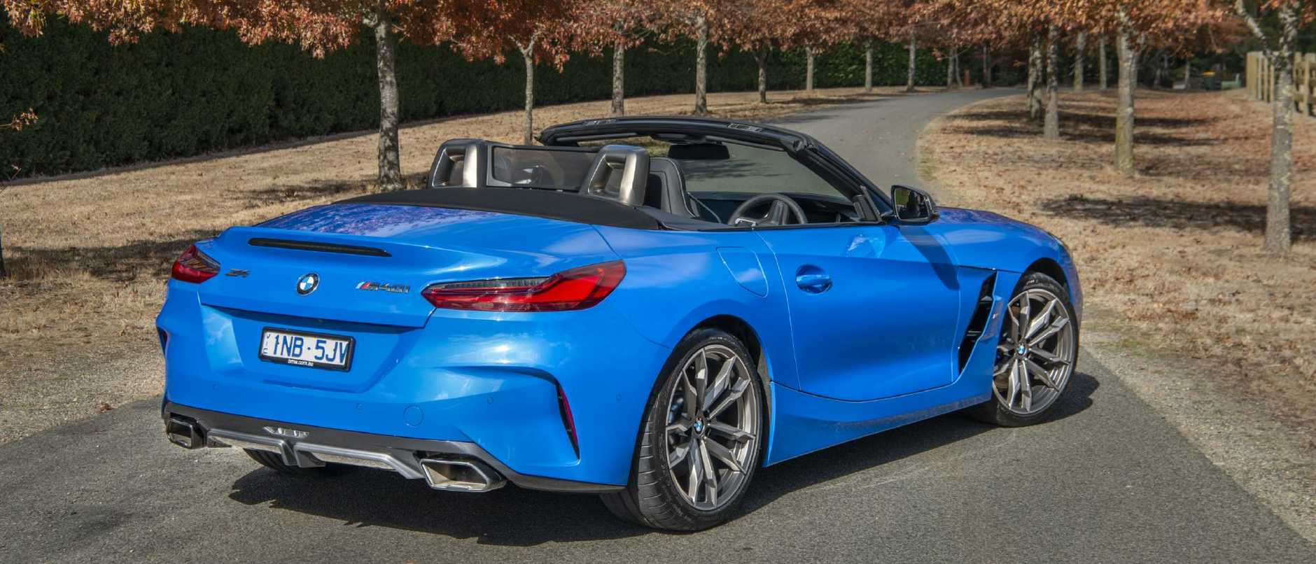 Z4: Eight-speed auto is sole transmission. M40i at $125K adds aural excitement