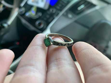 The woman would soon find out that her engagement ring was stolen property.