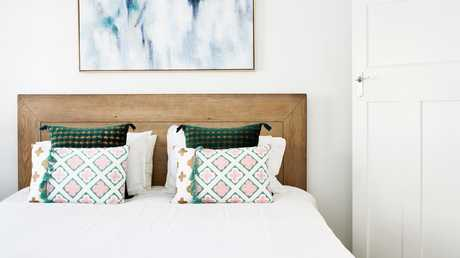 Opt for good-quality, natural-fibre bed linen.
