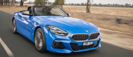 BMW Z4 M40i: The six-cylinder is the pick, clocking 4.5 secs for the 0-100km/h sprint