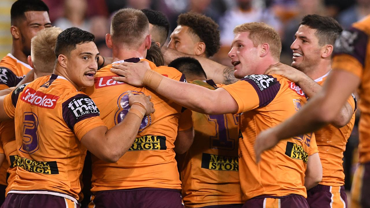 Victory was proof Brisbane aren't dead yet. Image: AAP Image/Dave Hunt