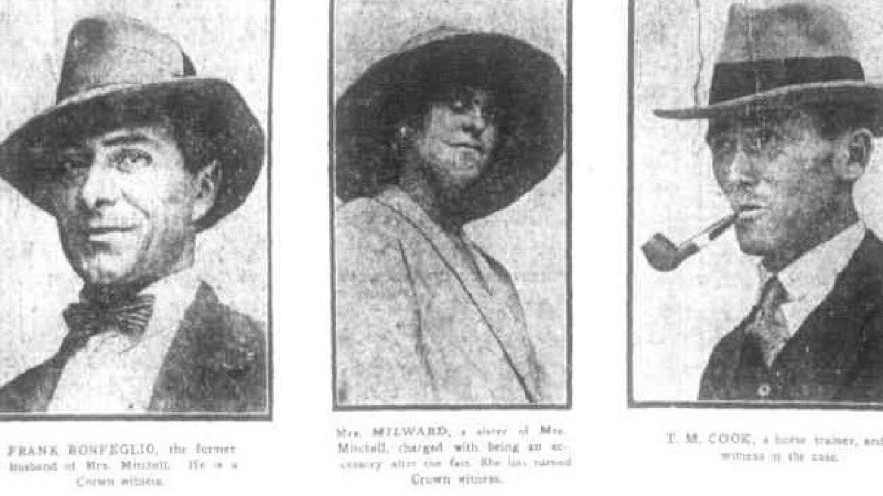 Nurse Hannah Mitchell — Melbourne murders.