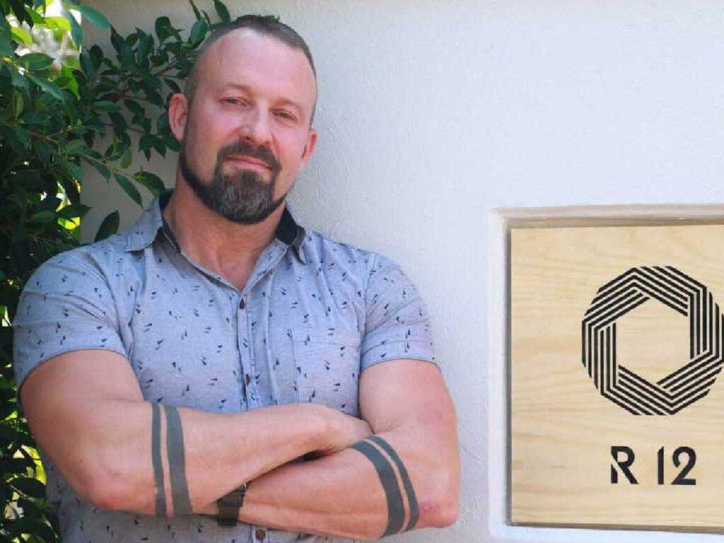 Stuart Fenton is a sex addiction therapist at The Cabin in Chiang Mai, Northern Thailand. The Cabin has a dedicated sex addiction recovery program which is being accessed by Australians. Picture: Supplied