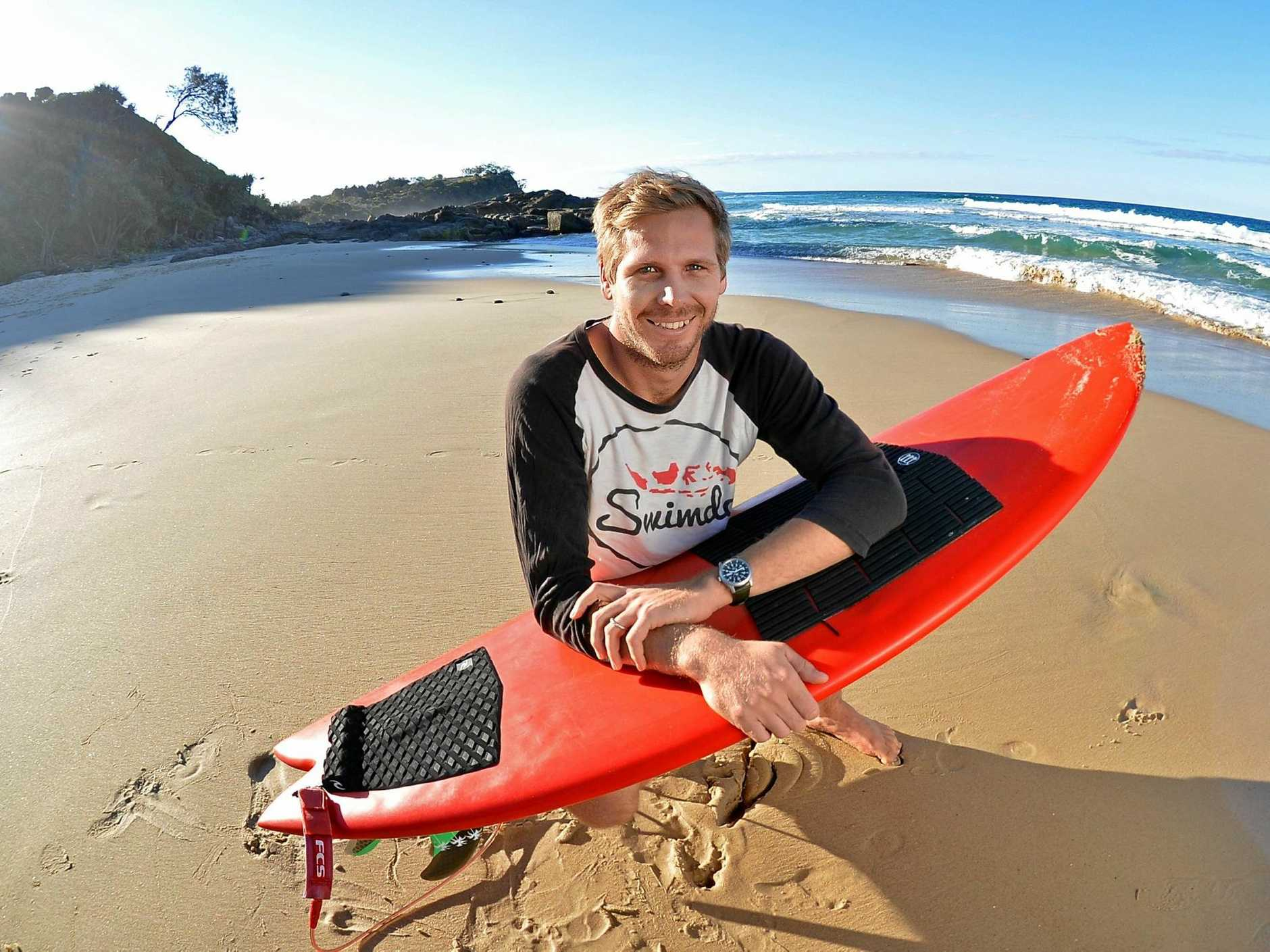 SWIMDO IN INDO: Seamus Pettigrew hopes to spread the word of his organisation that teaches kids in small Indonesia villages how to swim.