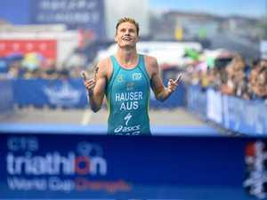Hausser wins ITU Triathlon World Cup event in China