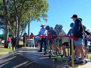 GALLERY: Chinchilla skatepark reopening carves up a crowd