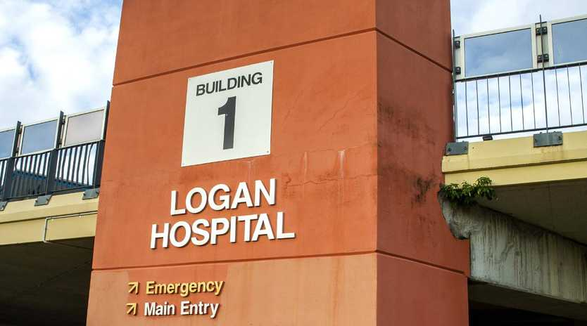 Logan Hospital has been promised extra funding by Labor to cope with higher patient demand. Picture: AAP/Richard Walker
