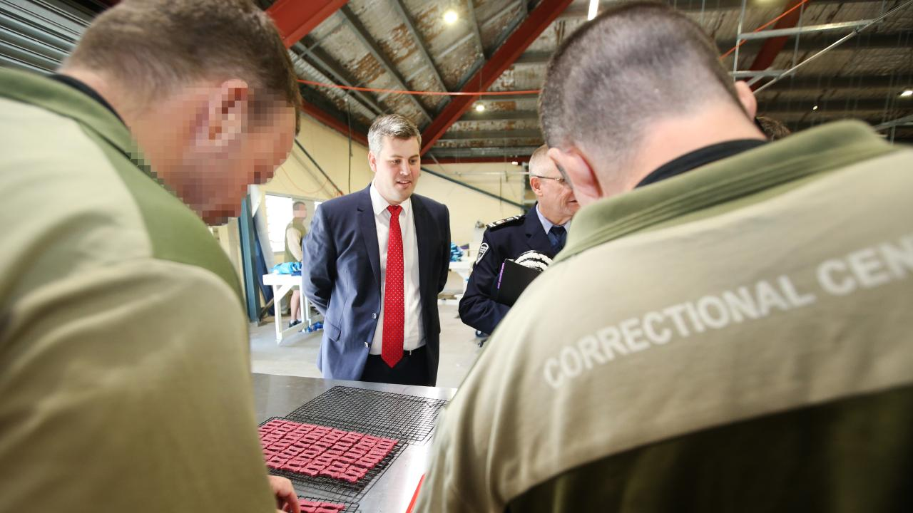 Corrective Services Minister Mark Ryan was outraged when he learnt of lavish wedding at Palen Creek prison farm this week.