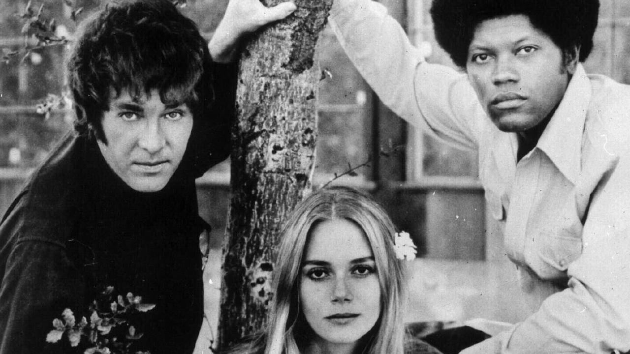Michael Cole, Peggy Lipton and Clarence Williams in Mod Squad.