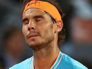 Young tennis freak stuns Rafael Nadal