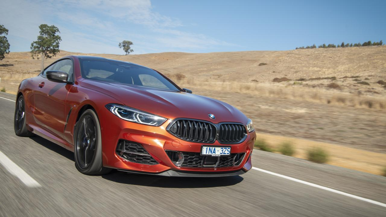 The 8 Series has the performance to match its slick sports car looks.
