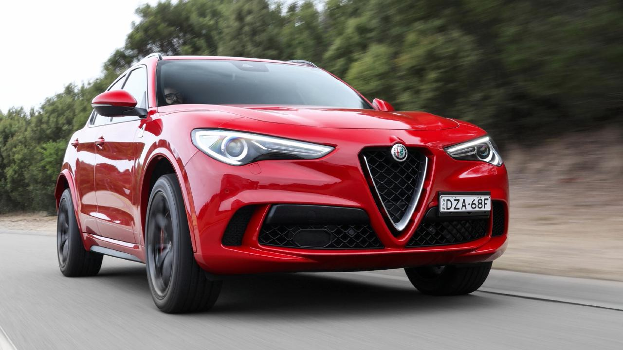 The Stelvio might be the best driving car in its class.