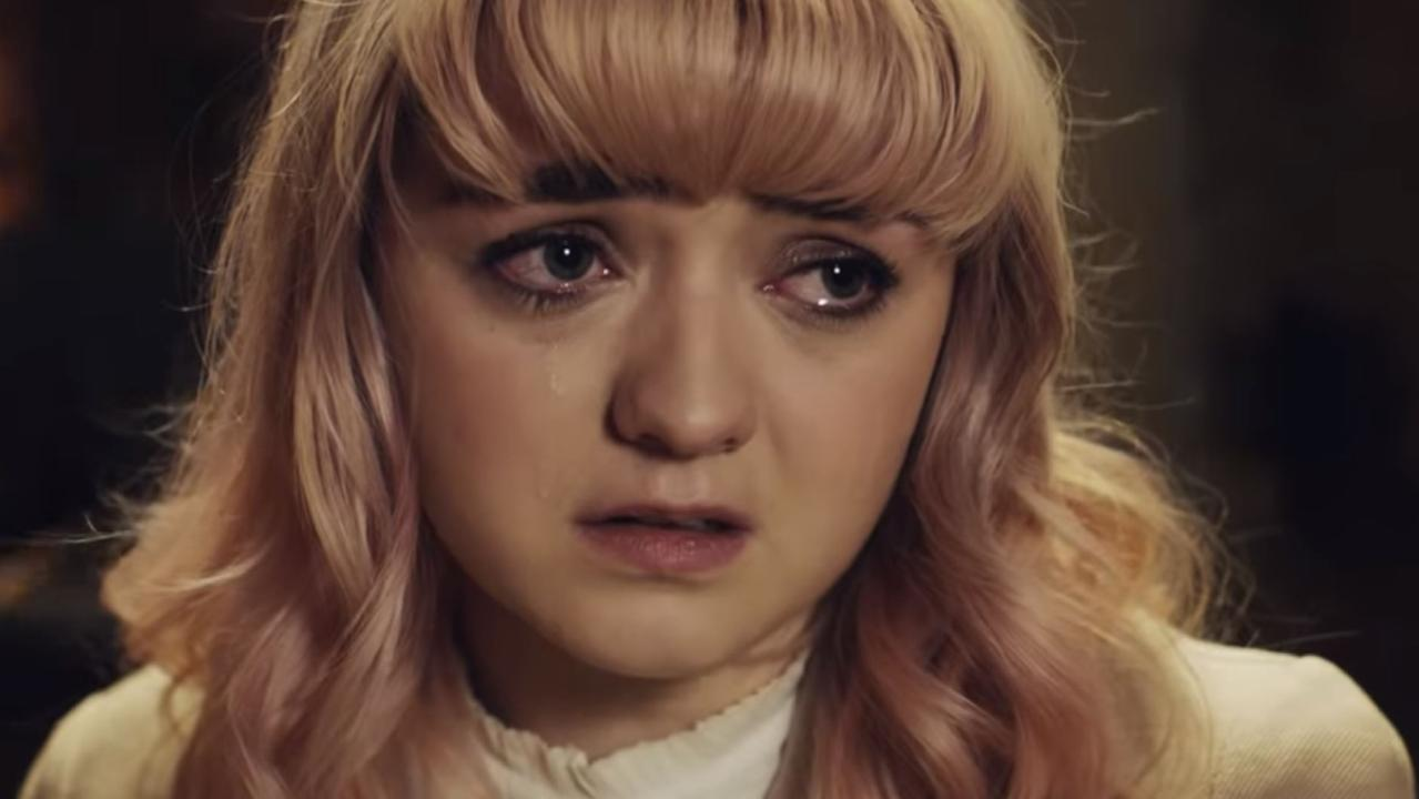 Maisie Williams starring in Freya Ridings — You Mean The World To Me video. Picture: You Tube