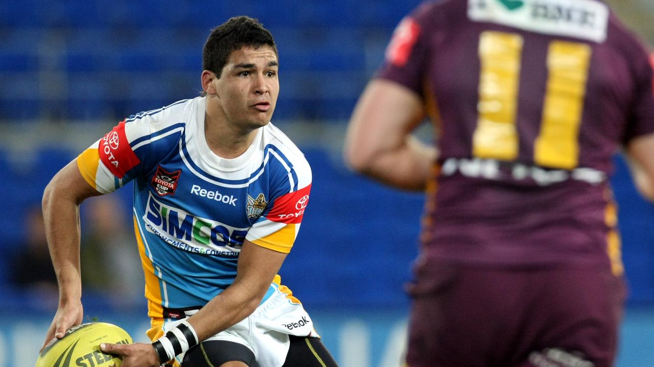 Walker in action for the Gold Coast Titans U20s.
