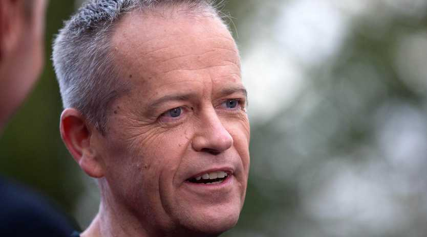 Bill Shorten is firming as Australia's next prime minister. Picture: Sarah Matray